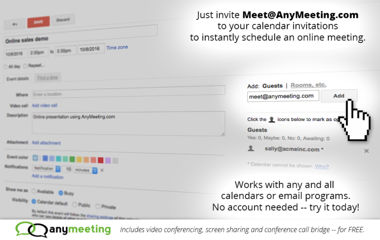 Web Conferencing Technology – AnyMeeting Blog | Online Meeting and